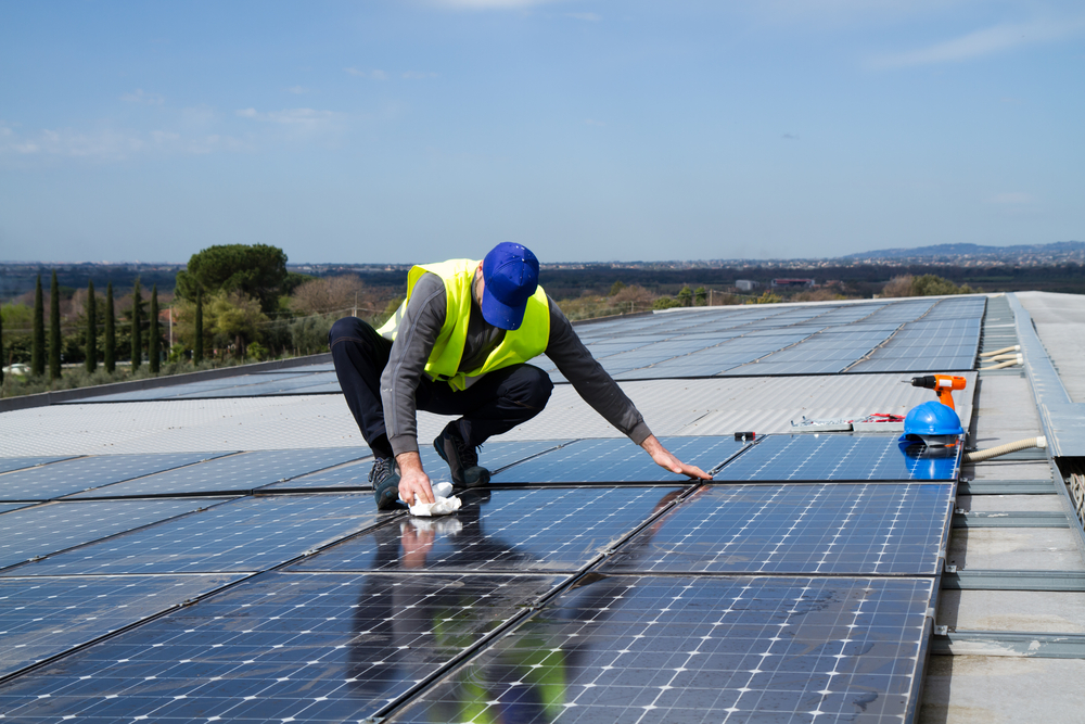 lavage de vos panneaux photovoltaïques